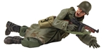 US 101st Airborne Wearing Raincoat Prone PRE-ORDER