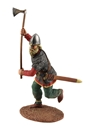 Viking Wearing Spangenhelm Attacking/Ax