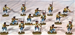 18th Century Infantry - Fully painted