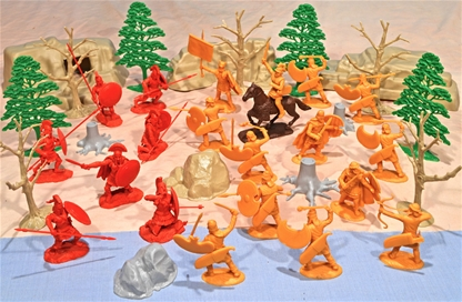Thermopylae Playset - Greeks vs Persians