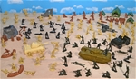 Battle Ready WWII Marx Recast Battleground Playset