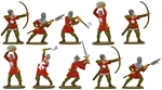 Crusader Men at Arms - Fully Painted set A