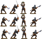 Crusader Men at Arms - Fully Painted set B