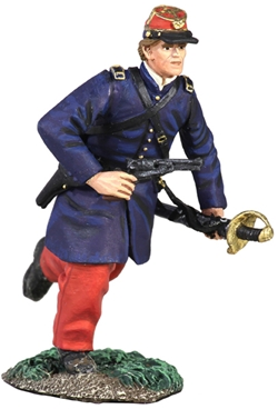 114th Pa Zouave Officer Charging No.1
