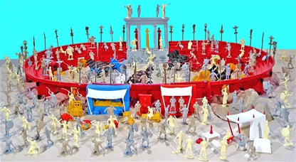 Marx Recast Ben Hur Playset - low stock!