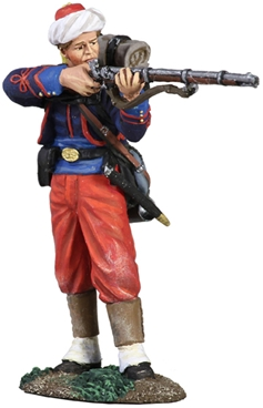 114th Pa Zouave in Turban Standing Firing No.1