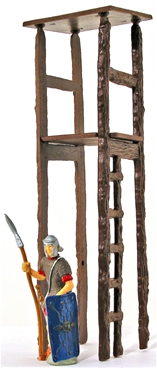 Wooden Guard or Lookout Tower
