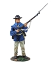 Colonial Militia Standing at Ready No.1 -PRE-ORDER