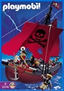 Red Corsair Pirate Ship