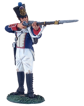 French Infantry Fusilier Standing Firing No.2