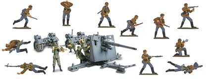 German 88mm Gun with SS Infantry Support Bundle