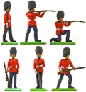 Deetail 1st Version Scots Guards