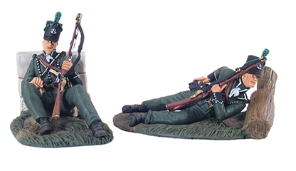 95th Rifles Defending Set No.1