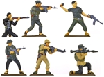 Vietcong - Vietnam War Soldiers - Fully Painted
