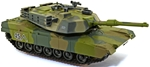 Painted Modern U.S. M1A1 Abrams Tank - metal body!