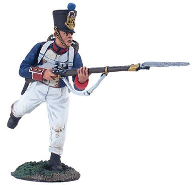 French Line Infantry Fusilier Charging No.1