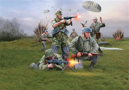 WW II German Paratroops