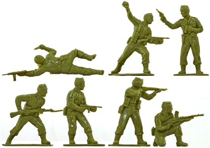 WWII British Commandos - set of 14 in 6 no box