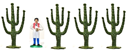 Set of 4 Cacti