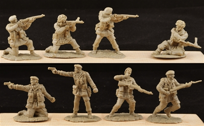 WWII British Paratroops Set #2 - very low stock