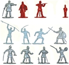 William Tell, Men at Arms, Peasants - set of 24
