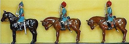 Mounted Fane's Horse - 1860 - Star set