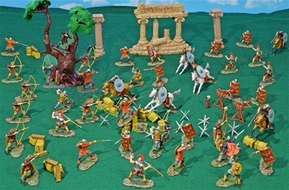 Deluxe Painted Roman Empire Playset