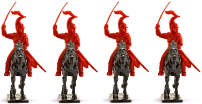 British Life Guards on copies of Italeri Horses