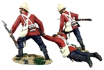 British 24th Foot Dragging Comrade