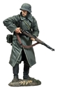 German Volksgrenadier in Greatcoat
