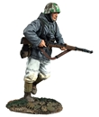 German Volksgrenadier in Parka Running #1