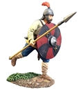 Saxon Warrior Running with Spear No. 1 - PRE-ORDER