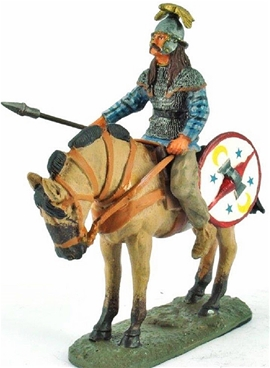 Mounted Gallic Warrior, 3rd Century BCE