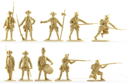 British Infantry #1 - pale cream color mint in box