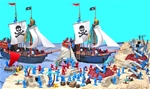 Deluxe Pirates Playset - APRIL SALE!