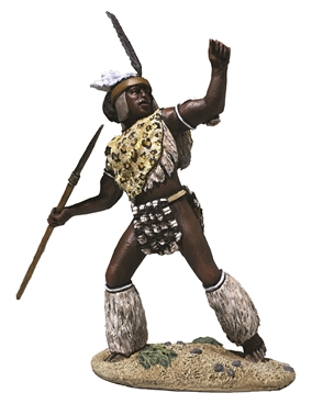 Zulu uThulwana Regiment Throwing Spear PRE-ORDER