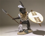 Zulu uThulwana Regiment with Assegai PRE-ORDER