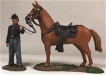 Federal Orderly Holding Horse - PRE-ORDER