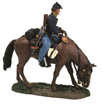 Federal Cavalry Trooper Mounted No.1 - PRE-ORDER