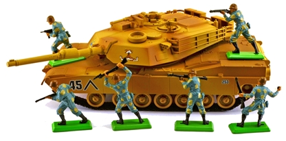 'Enemy' Abrams Tank Army Bundle #2