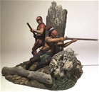 The Ambush - Native Warriors Firing - PRE-ORDER
