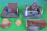 D-Day Playset #3 - Farmhouse Assault - 1 in stock