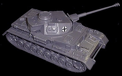 WW II German Long Barreled Panzer IV Tank