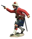 42nd Highlander Officer Firing Pistol