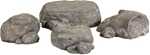 Boulders and Rocks (set of four)