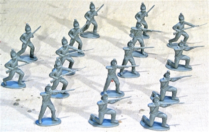 Napoleonic Brunswick Infantry - gray color