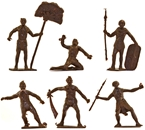 Ancient Nubians - set of 6