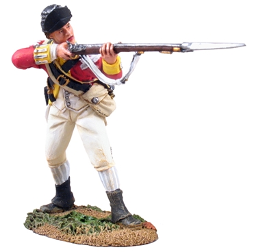 British 10th Foot Light Infantry Standing Firing #