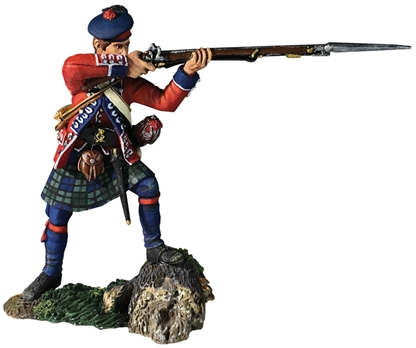 British 42nd Highlander Firing No.2 - PRE-ORDER