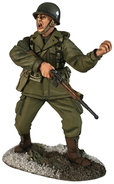 US 101st Airborne Officer Directing Moves PREORDER